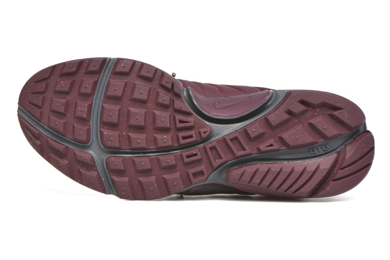 Sneaker Nike W Air Presto Mid Utility weinrot ansicht von oben