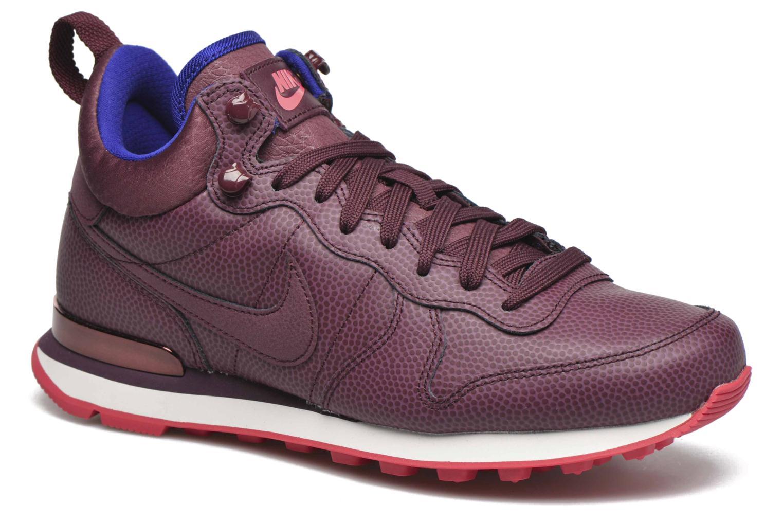 Últimos recortes de precios Nike W Internationalist Mid Lthr (Vino) - Deportivas chez Sarenza