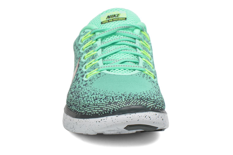 Chaussures de sport Nike W Nike Free Rn Distance Shield Vert vue portées chaussures