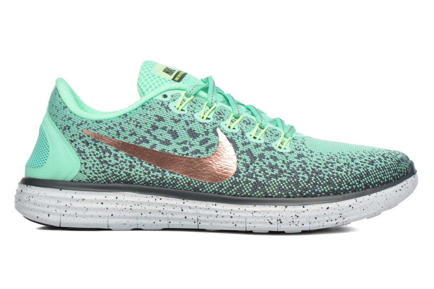 W Nike Free Rn Distance Shield Green Glow/Mtlc Red Bronze-Hasta-Seaweed
