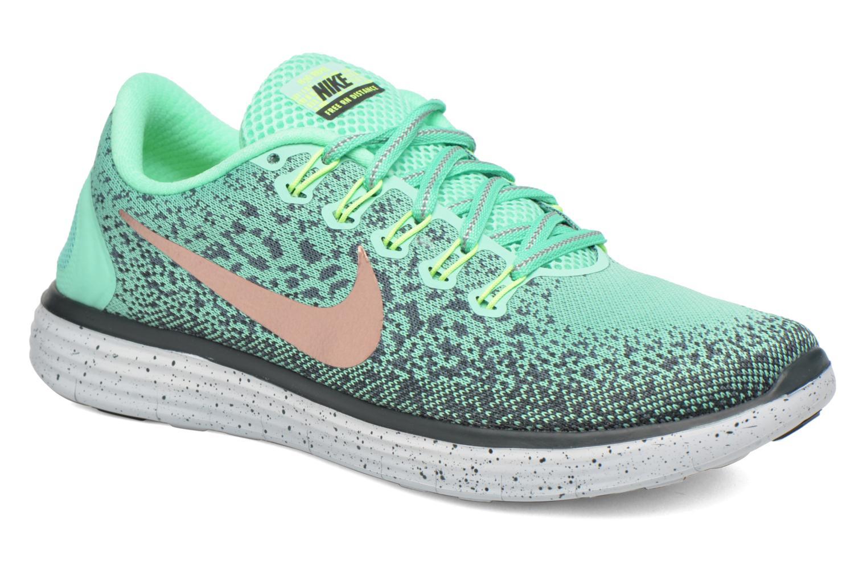 W Nike Free Rn Distance Shield Green Glow/Mtlc Red Bronze-Hasta-Seaweed