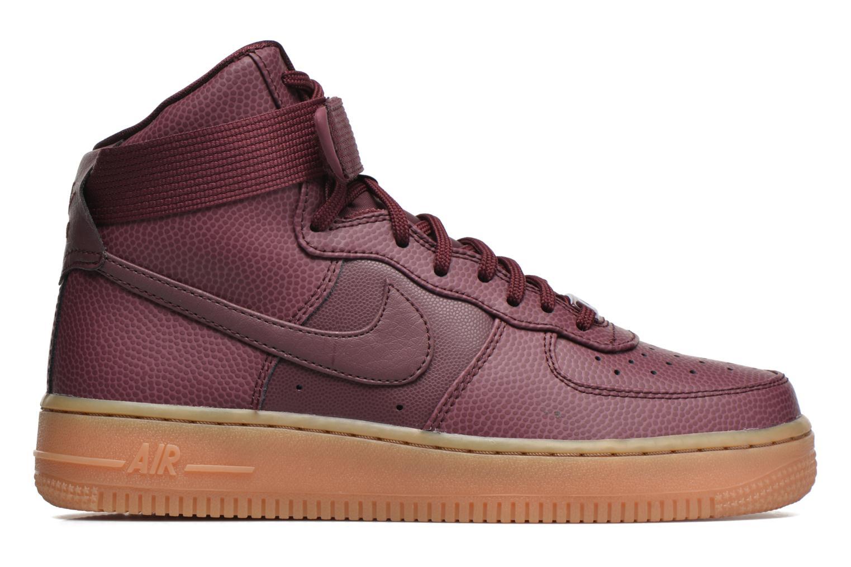 Baskets Nike Wmns Air Force 1 Hi Se Bordeaux vue derrière