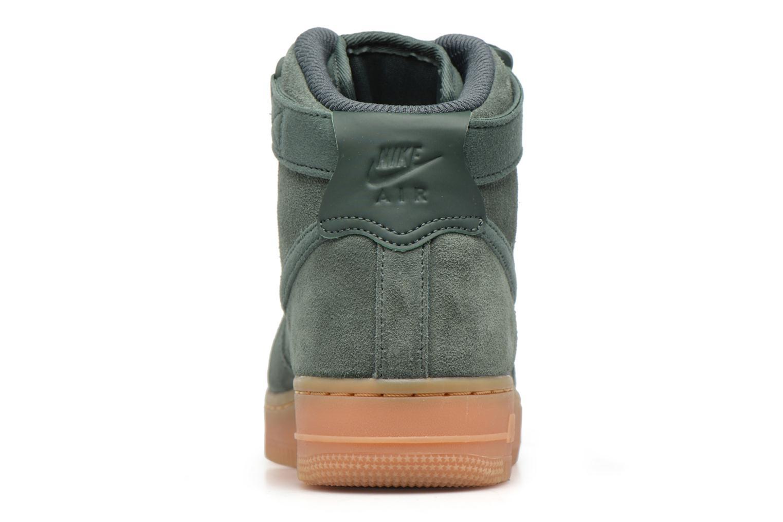Baskets Nike Wmns Air Force 1 Hi Se Vert vue droite