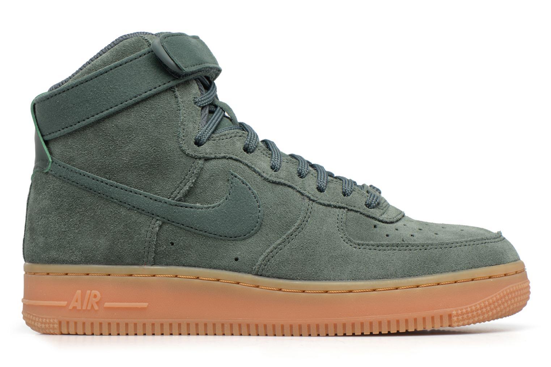 Baskets Nike Wmns Air Force 1 Hi Se Vert vue derrière
