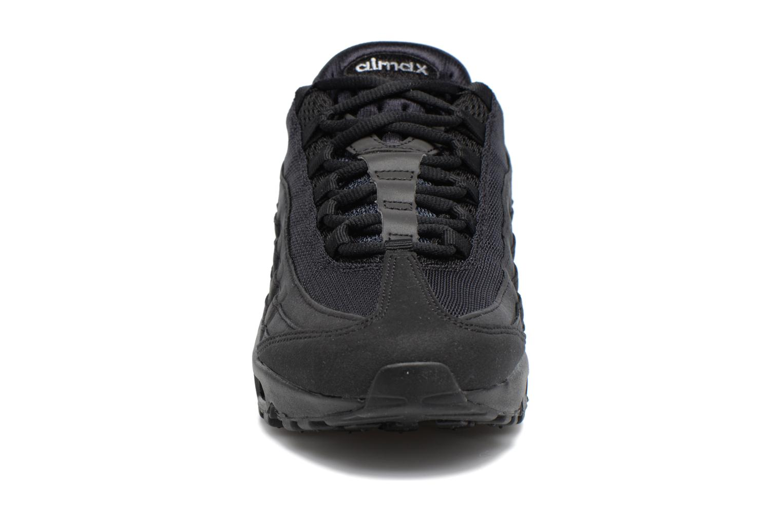 Wmns Air Max 95 Black/Black-Wolf Grey-Dark Grey