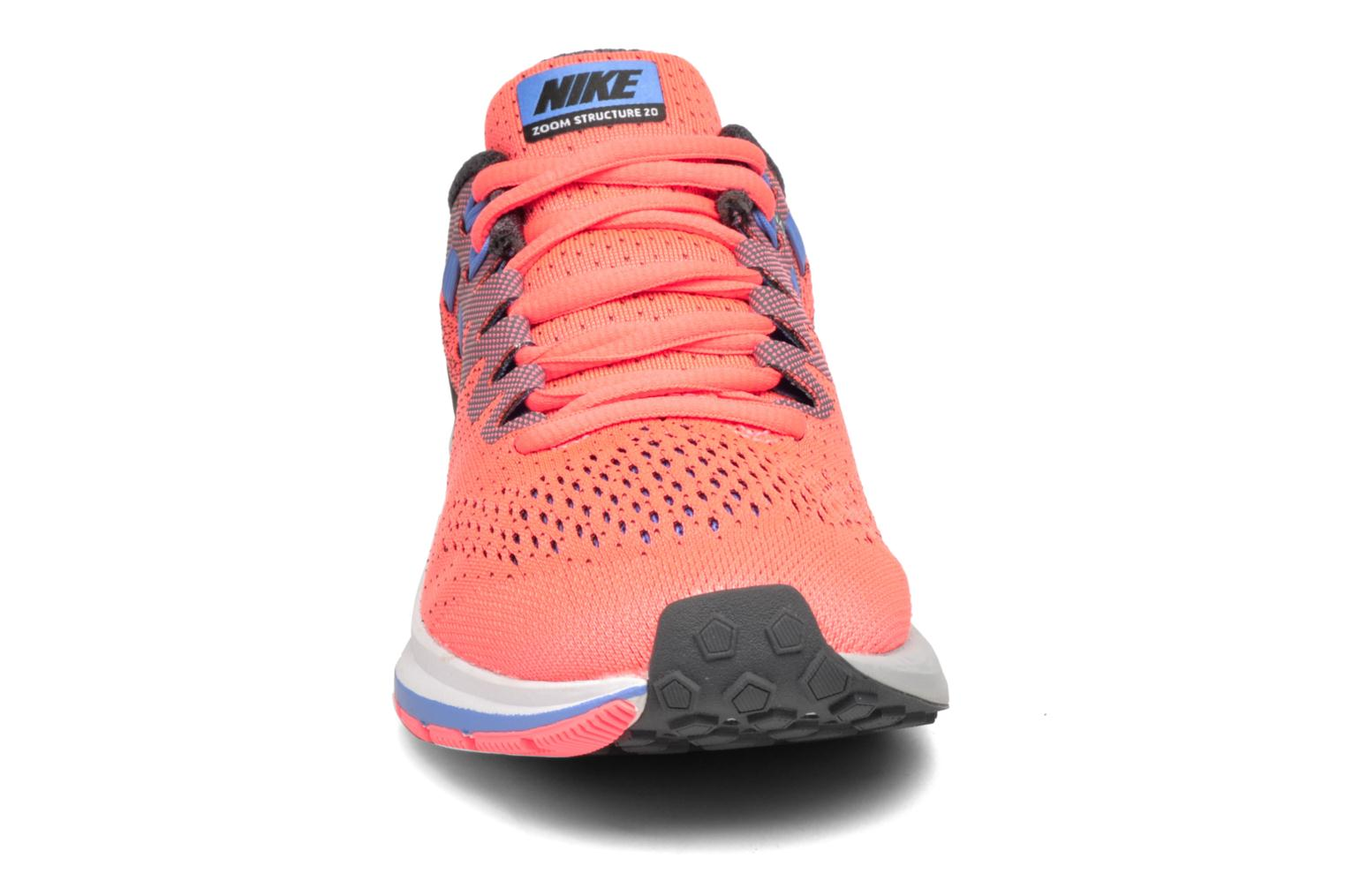 Wmns Air Zoom Structure 20 Hot Punch/Black-Dark Grey-Polar
