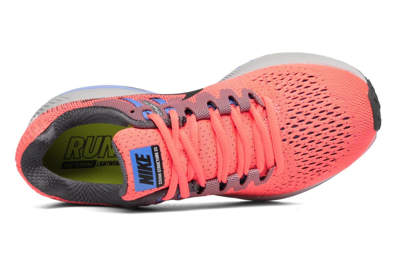 Chaussures de sport Nike Wmns Air Zoom Structure 20 Rose vue gauche