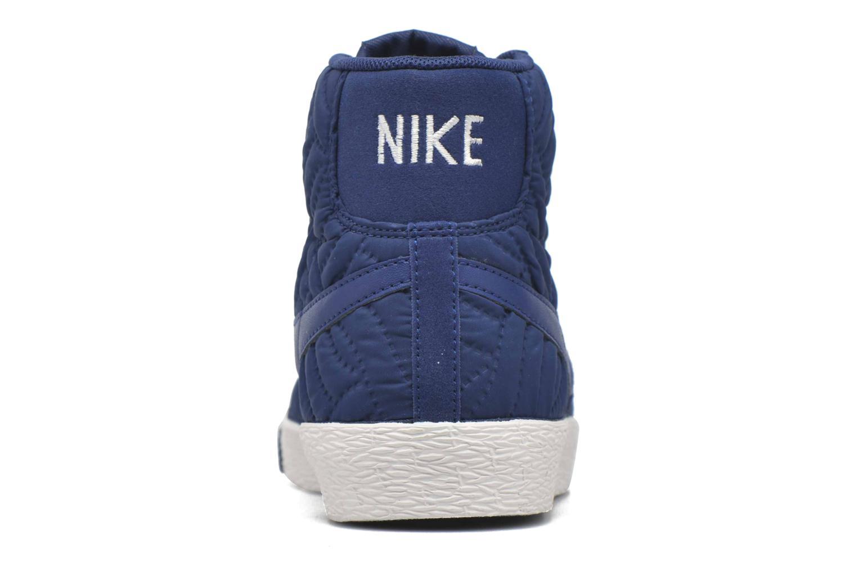 Sneaker Nike Wmns Blazer Mid Prm Se blau ansicht von rechts