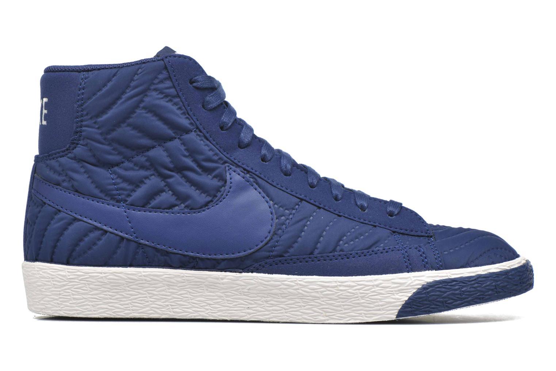 Baskets Nike Wmns Blazer Mid Prm Se Bleu vue derrière