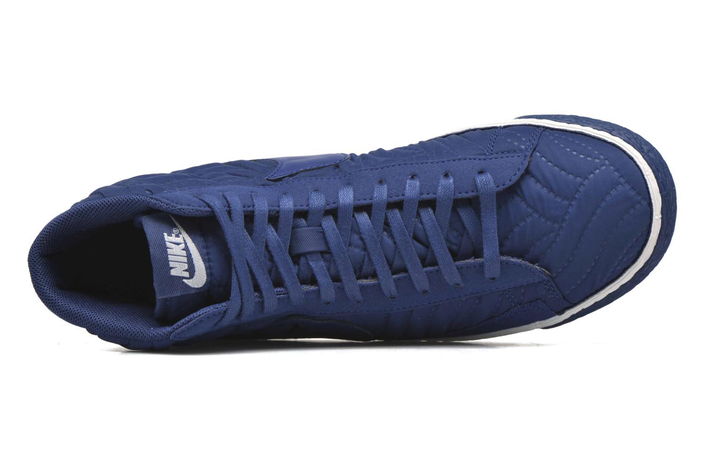 Sneaker Nike Wmns Blazer Mid Prm Se blau ansicht von links