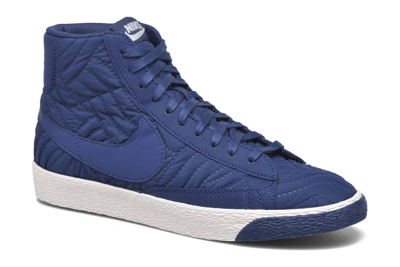 Baskets Nike Wmns Blazer Mid Prm Se Bleu vue détail/paire