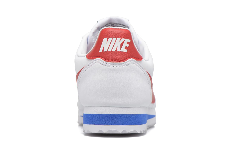 Sneakers Nike Wmns Classic Cortez Leather Bianco immagine destra