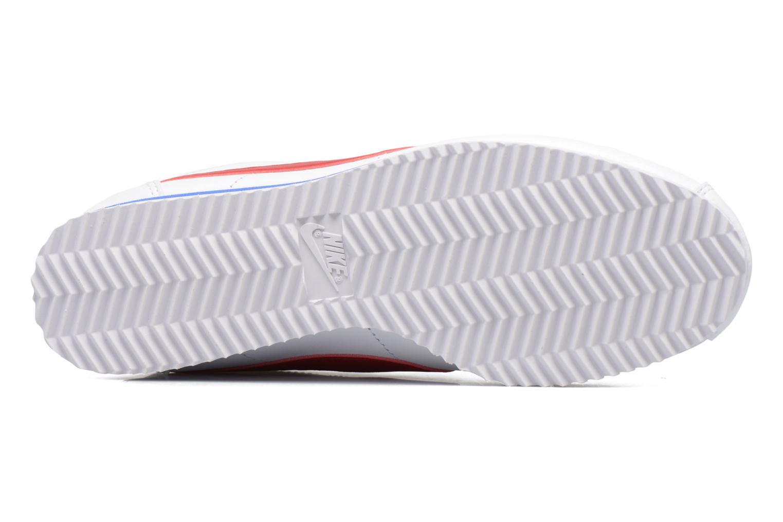 Wmns Classic Cortez Leather White/Varsity Red-Varsity Royal