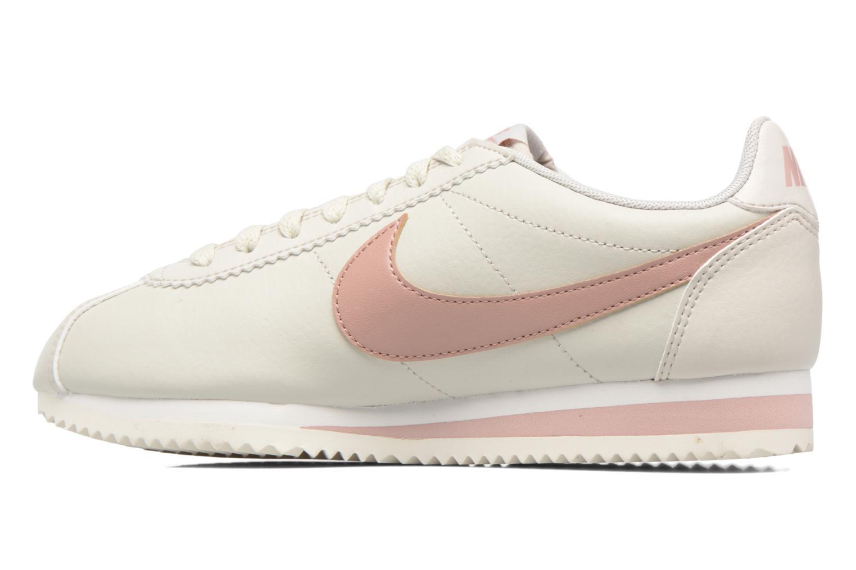 Sneaker Nike Wmns Classic Cortez Leather weiß ansicht von vorne