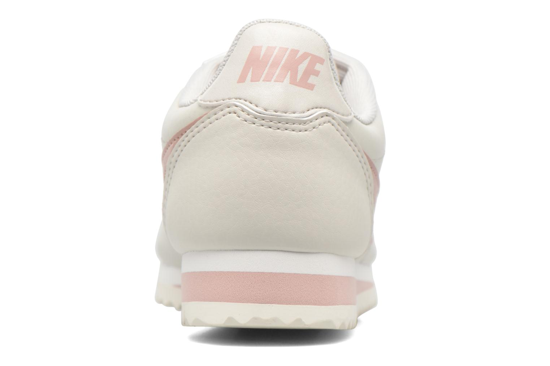 Baskets Nike Wmns Classic Cortez Leather Blanc vue droite