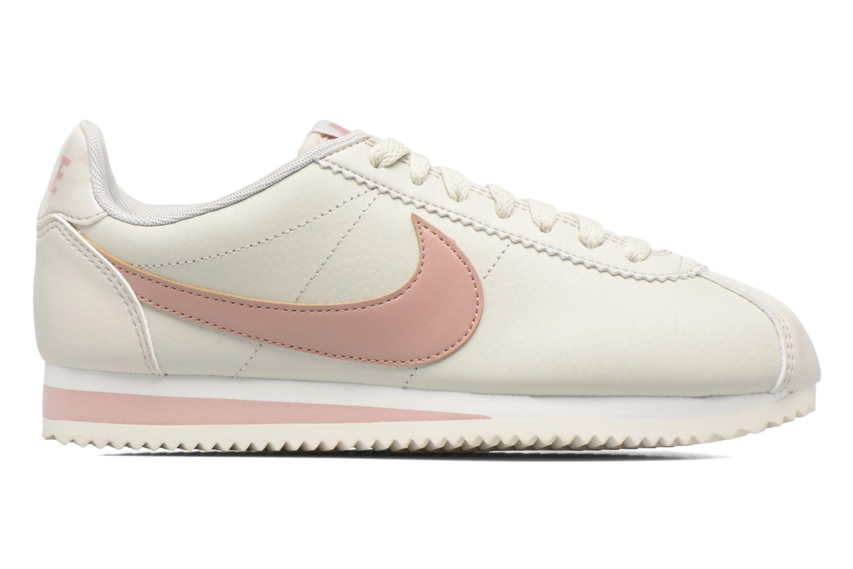 Sneaker Nike Wmns Classic Cortez Leather weiß ansicht von hinten