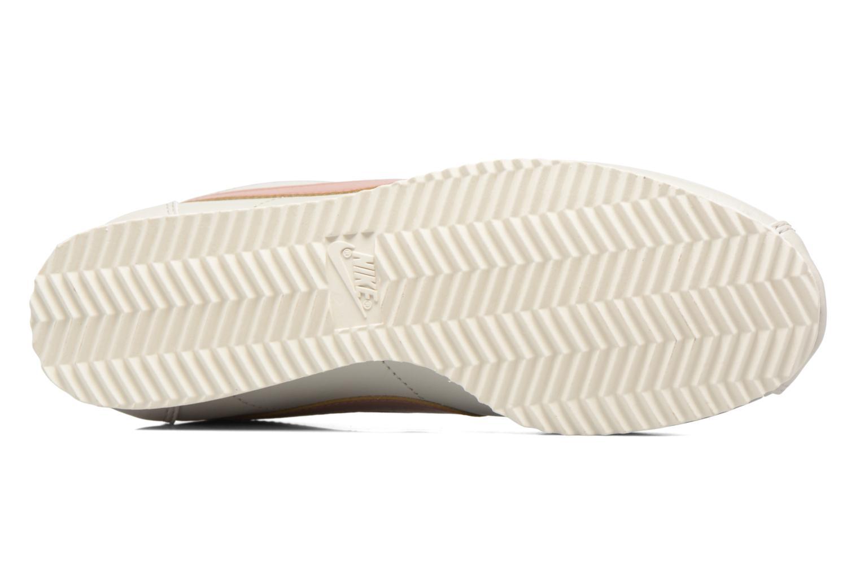 Sneaker Nike Wmns Classic Cortez Leather weiß ansicht von oben
