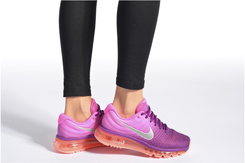 Chaussures de sport Nike Wmns Nike Air Max 2017 Violet vue bas / vue portée sac