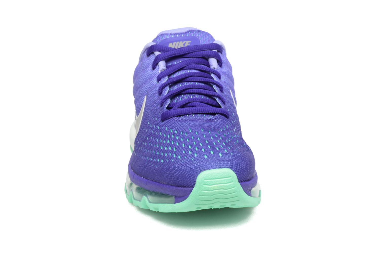 Chaussures de sport Nike Wmns Nike Air Max 2017 Violet vue portées chaussures