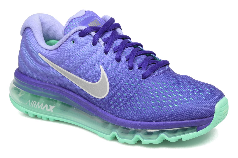 Chaussures de sport Nike Wmns Nike Air Max 2017 Violet vue détail/paire