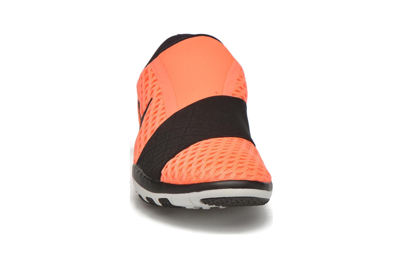 Scarpe sportive Nike Wmns Nike Free Connect Arancione modello indossato