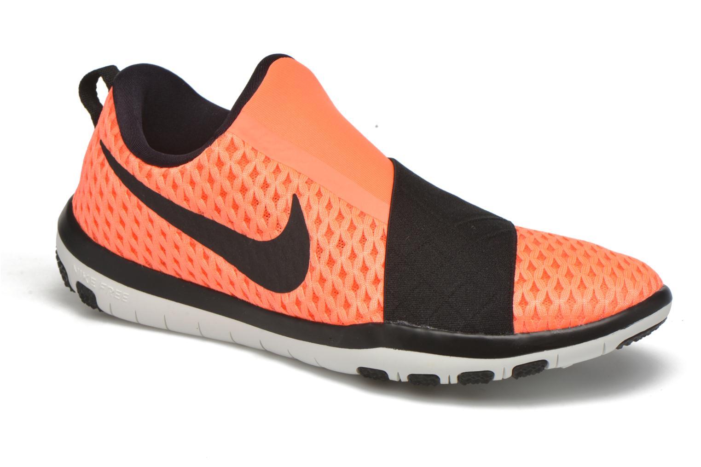 Sportssko Nike Wmns Nike Free Connect Orange detaljeret billede af skoene