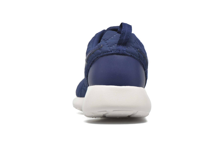 Deportivas Nike Wmns Nike Roshe One Prm Azul vista lateral derecha