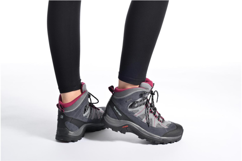 Zapatillas de deporte Salomon Authentic LTR GTX W Gris vista de abajo