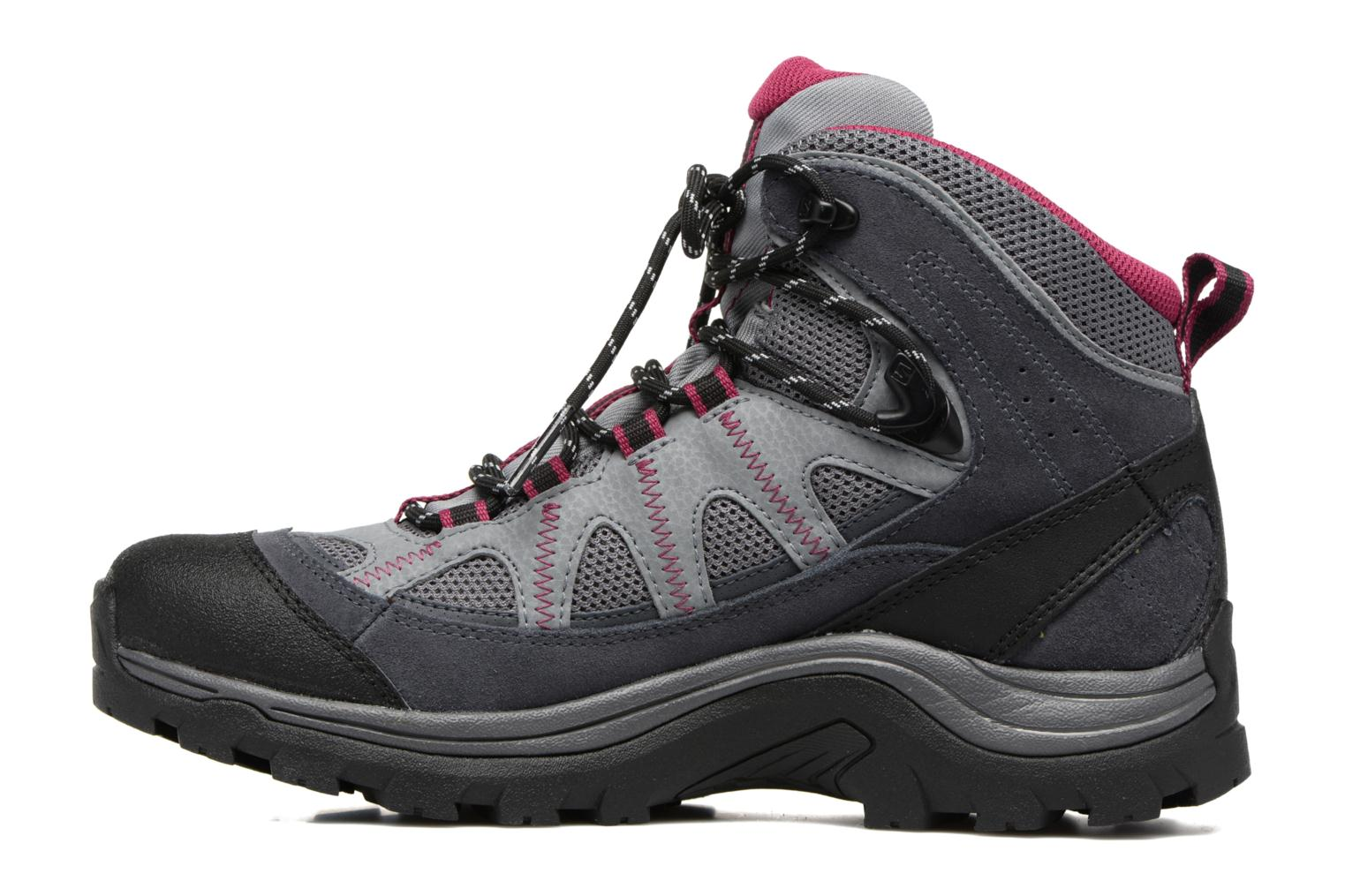 Chaussures de sport Salomon Authentic LTR GTX W Gris vue face