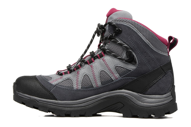 Zapatillas de deporte Salomon Authentic LTR GTX W Gris vista de frente