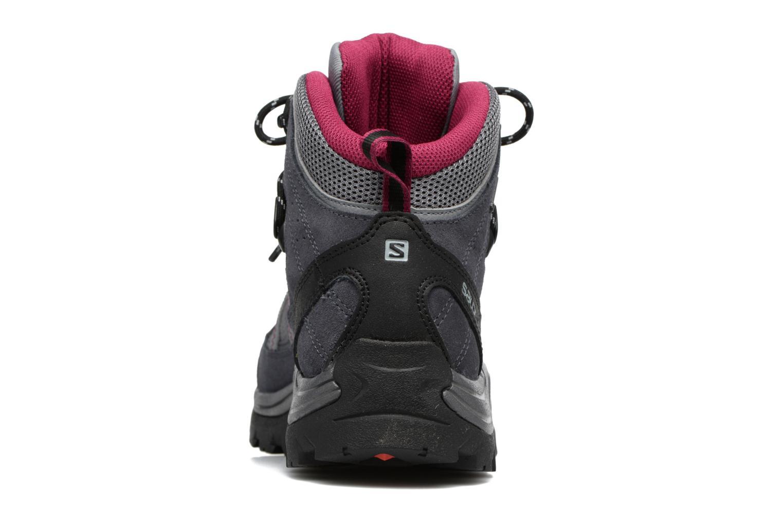 Zapatillas de deporte Salomon Authentic LTR GTX W Gris vista lateral derecha