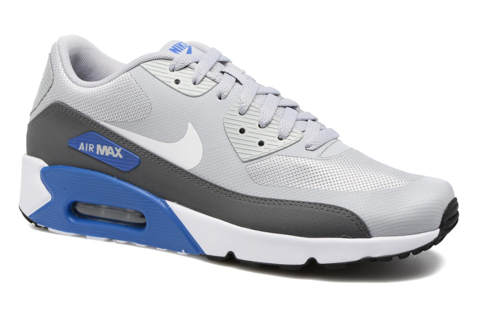 Baskets Nike Air Max 90 Ultra 2.0 Essential Gris vue détail/paire