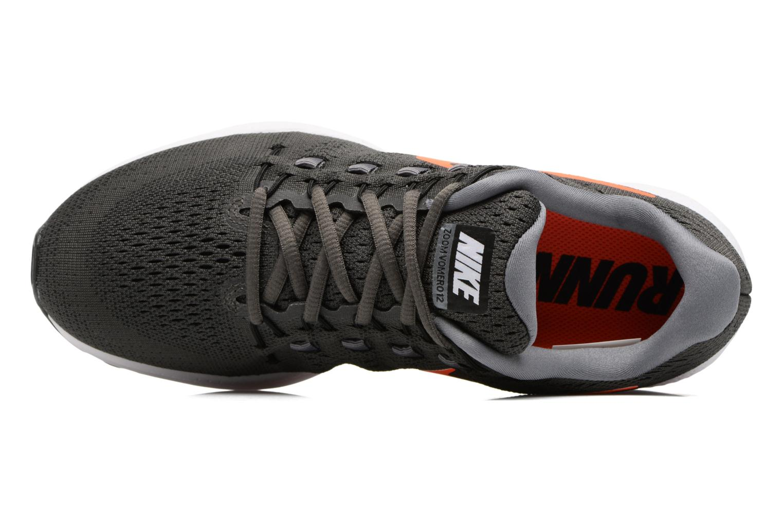 Chaussures de sport Nike Nike Air Zoom Vomero 12 Orange vue gauche