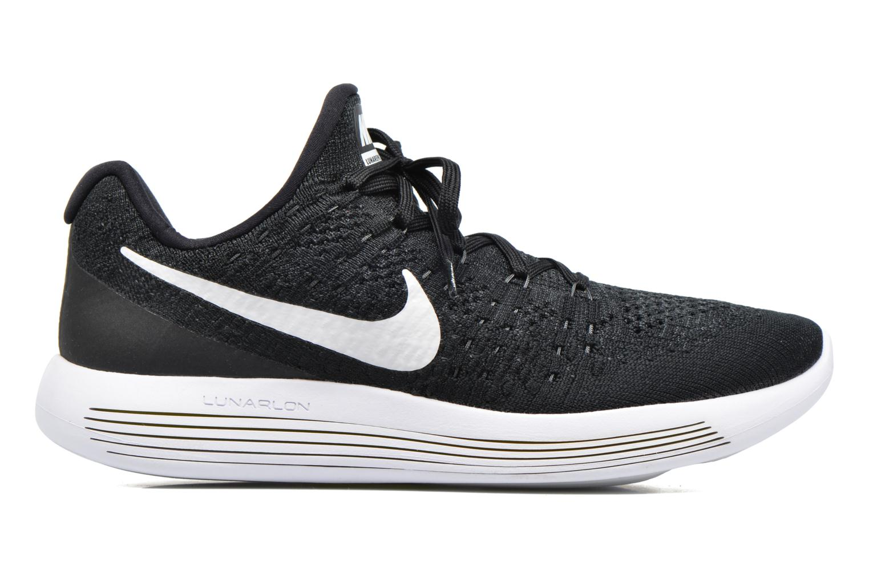 Zapatillas de deporte Nike Nike Lunarepic Low Flyknit 2 Negro vistra trasera