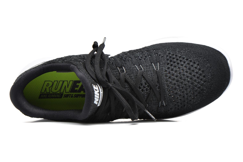 Zapatillas de deporte Nike Nike Lunarepic Low Flyknit 2 Negro vista lateral izquierda