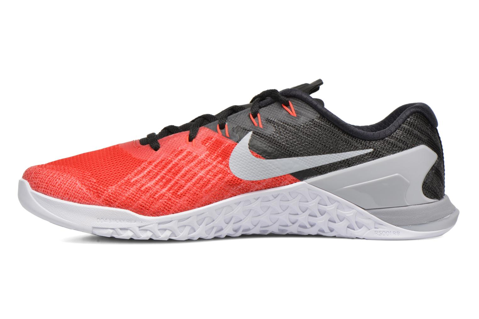 Chaussures de sport Nike Nike Metcon 3 Rouge vue face