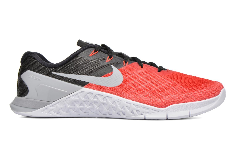 Chaussures de sport Nike Nike Metcon 3 Rouge vue derrière