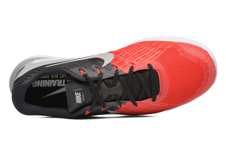 Chaussures de sport Nike Nike Metcon 3 Rouge vue gauche