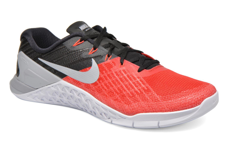 Chaussures de sport Nike Nike Metcon 3 Rouge vue détail/paire