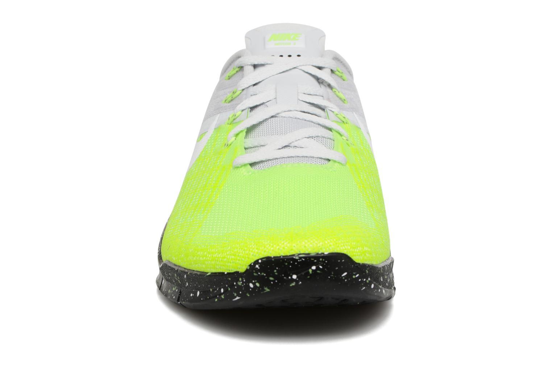 Sportschuhe Nike Nike Metcon 3 gelb schuhe getragen