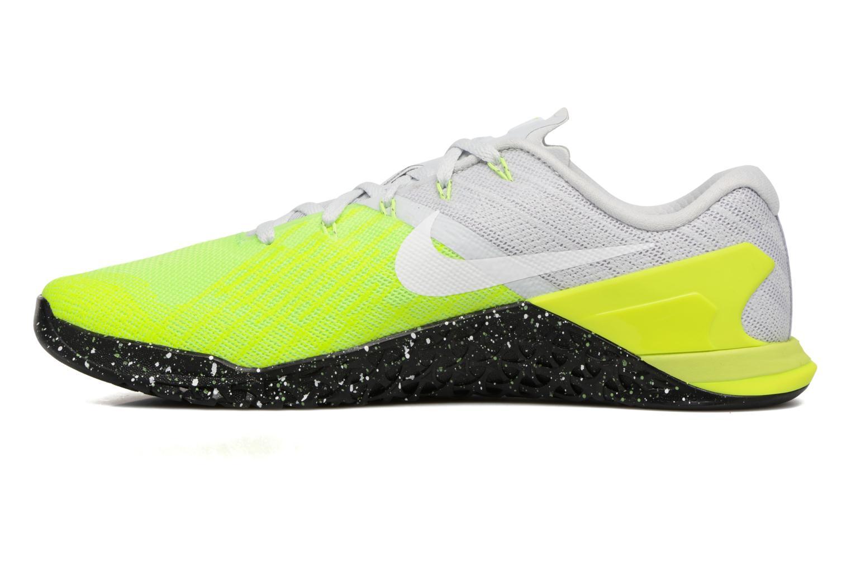 Sportschuhe Nike Nike Metcon 3 gelb ansicht von vorne