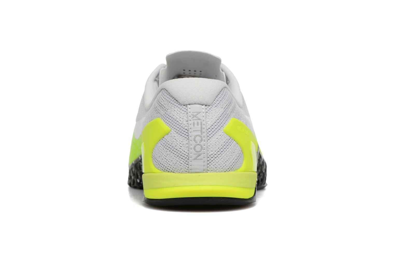 Sportschuhe Nike Nike Metcon 3 gelb ansicht von rechts