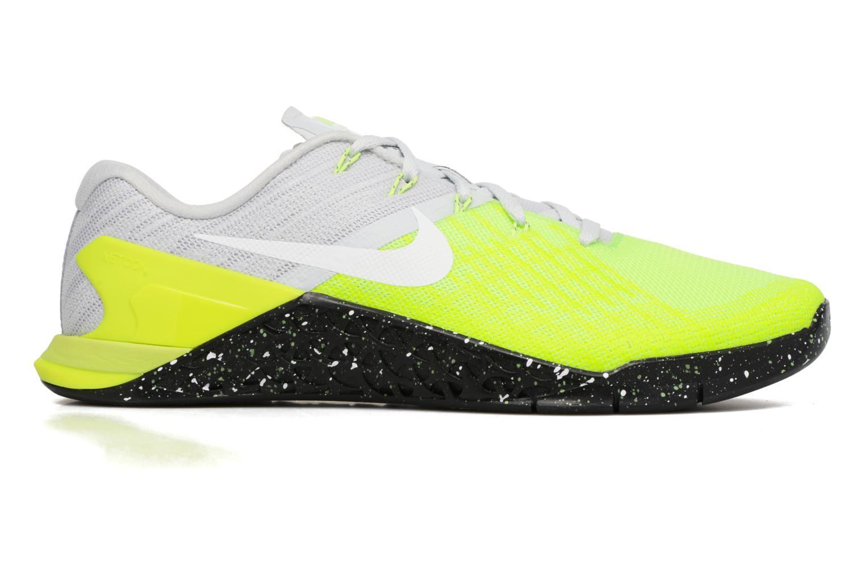 Chaussures de sport Nike Nike Metcon 3 Jaune vue derrière