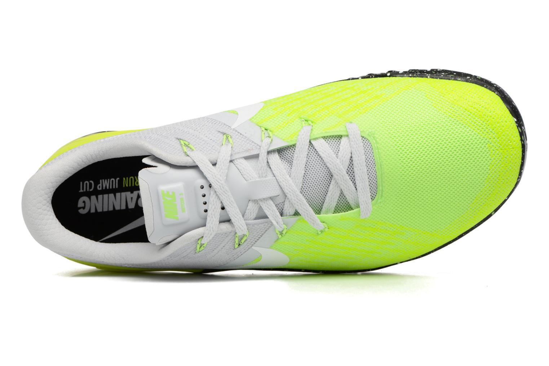 Sportschuhe Nike Nike Metcon 3 gelb ansicht von links
