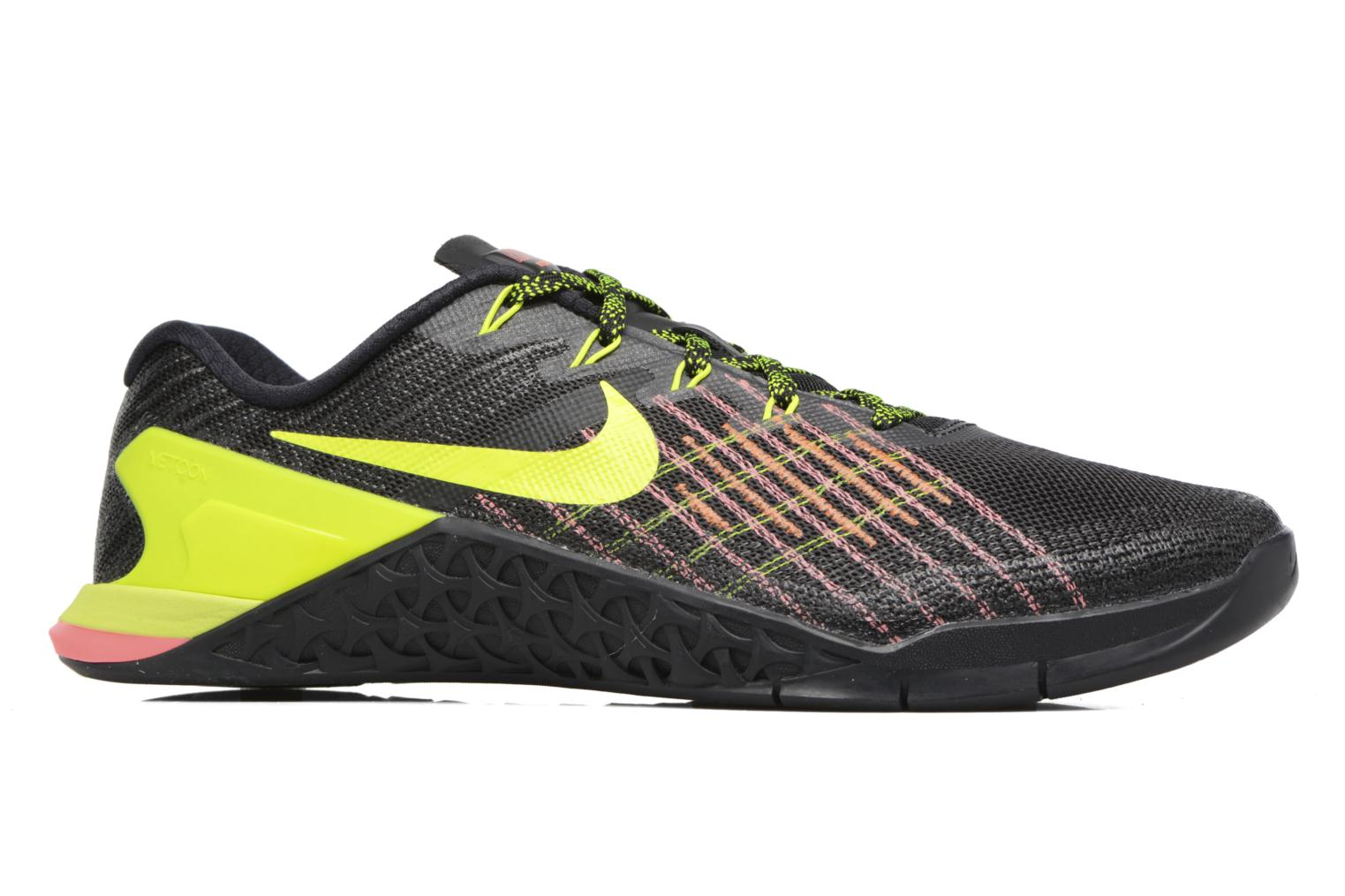 Nike Metcon 3 Black/Volt-Hyper Crimson-Hot Punch