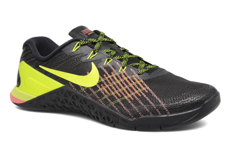Nike Metcon 3 Black/Volt-Hyper Crimson-Hot Punch