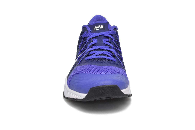 Chaussures de sport Nike Nike Zoom Train Complete Bleu vue portées chaussures