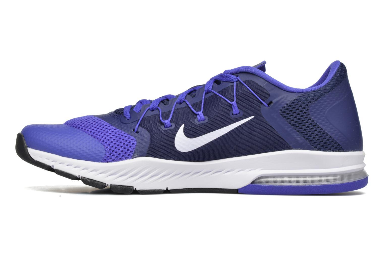 Chaussures de sport Nike Nike Zoom Train Complete Bleu vue face