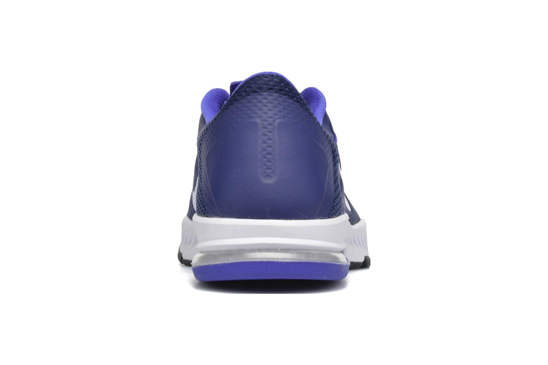 Chaussures de sport Nike Nike Zoom Train Complete Bleu vue droite