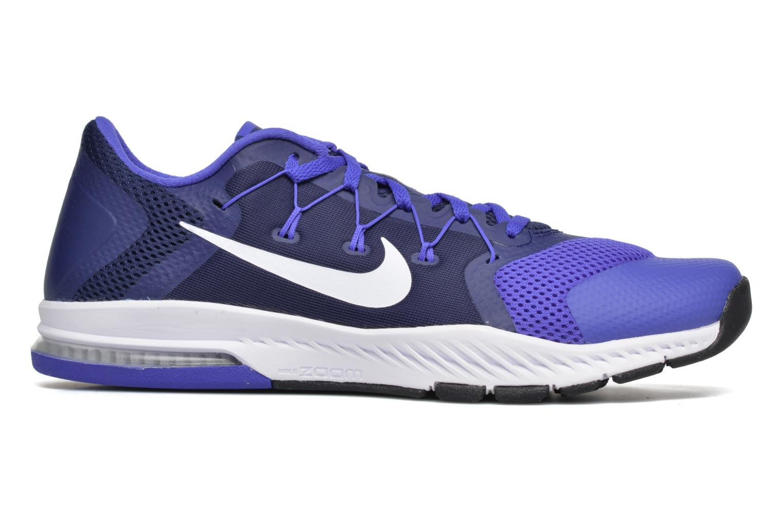 Sportskor Nike Nike Zoom Train Complete Blå bild från baksidan
